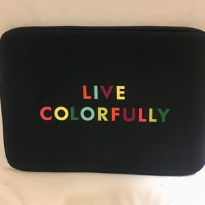 Kate Spade Live Colorfully Laptop Sleeve 15""